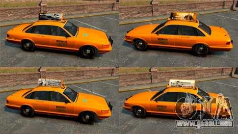 Servicio Nueva York para GTA 4 sexto de pantalla
