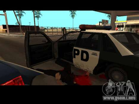 WeaponStyles para GTA San Andreas segunda pantalla