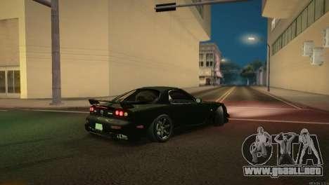 Mazda RX-7 STANCENATION para la vista superior GTA San Andreas