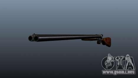 Escopeta de doble cañón para GTA 4
