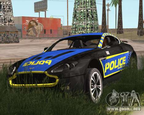 Aston Martin V12 Vantage Cop Edition para GTA San Andreas