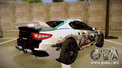 Maserati Gran Turismo MC 2009 para la visión correcta GTA San Andreas