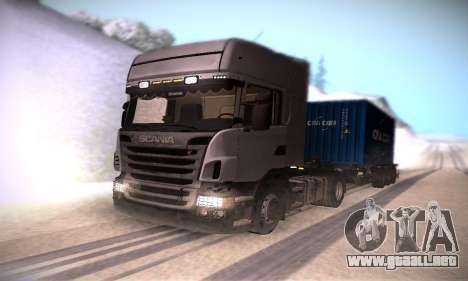 Scania R500 Topline para GTA San Andreas