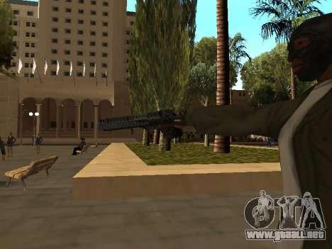WeaponStyles para GTA San Andreas novena de pantalla