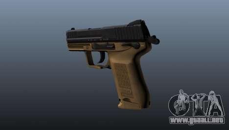 Pistola HK45C v3 para GTA 4 segundos de pantalla