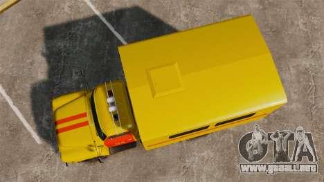 Emergencia Gaz-52 para GTA 4 visión correcta