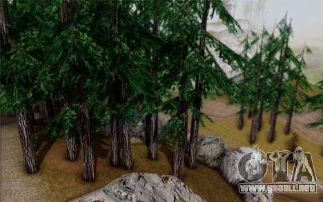 Nueva vegetación 2013 para GTA San Andreas sexta pantalla