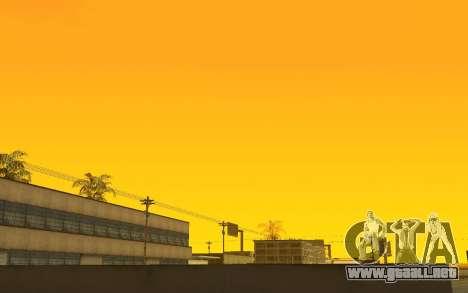 GTA V to SA: Timecyc v1.0 para GTA San Andreas