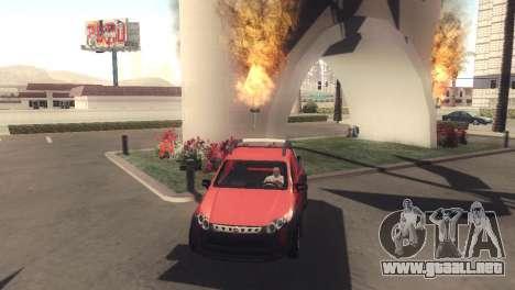 Fiat Strada Locker 2013 para GTA San Andreas left