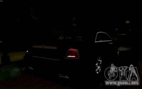 Rolls-Royce Ghost para la vista superior GTA San Andreas