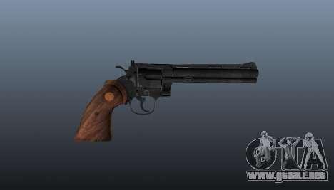 Revólver Colt Python 357 para GTA 4 tercera pantalla