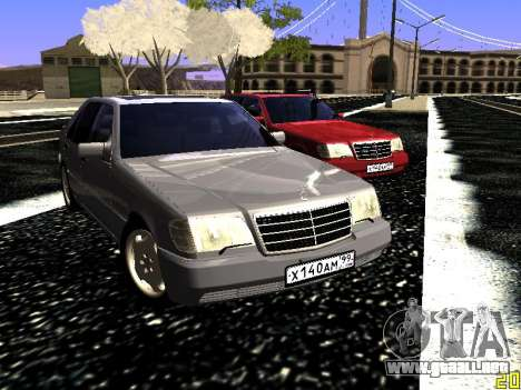 Mercedes-Benz S600 W140 para visión interna GTA San Andreas