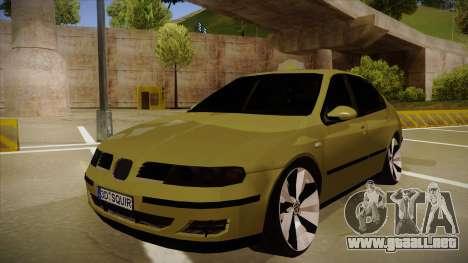 Seat Toledo German Style para GTA San Andreas