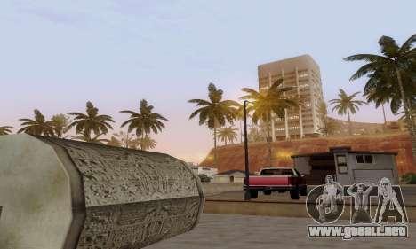 ENBSeries for low and medium PC para GTA San Andreas sucesivamente de pantalla