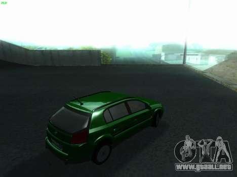 Opel Signum Kombi 1.9 CDi para GTA San Andreas vista posterior izquierda