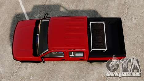 Nissan Frontier D22 para GTA 4 visión correcta