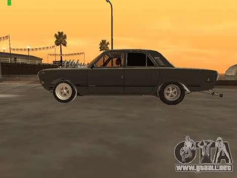 Gas arrastre edición 24 para GTA San Andreas left