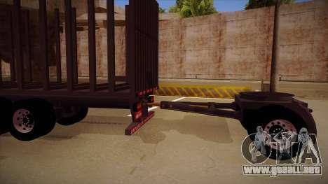 Parte de conexión de un remolque de camión de ma para GTA San Andreas left