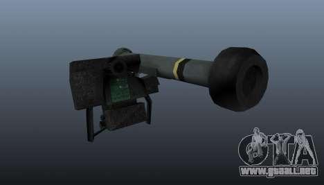 FGM-148 Dževlin para GTA 4 segundos de pantalla