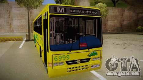 Busscar Urbanus SS Volvo B10 M garcia para GTA San Andreas left