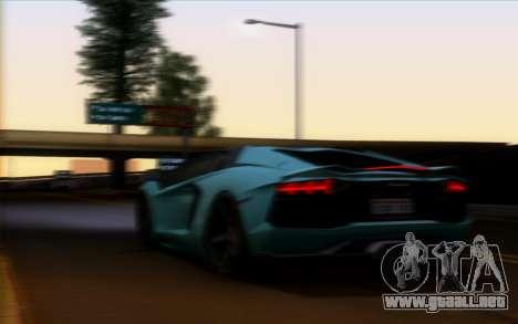 Lamborghini Aventador LP700-4 Vossen V2.0 Final para visión interna GTA San Andreas