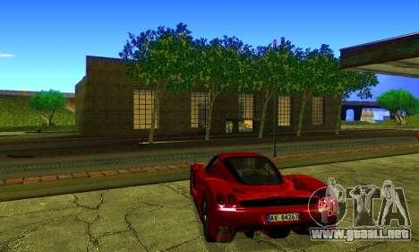 ENBSeries By Avatar para GTA San Andreas sucesivamente de pantalla