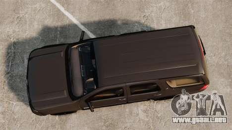 Chevrolet Tahoe Slicktop [ELS] v2 para GTA 4 visión correcta
