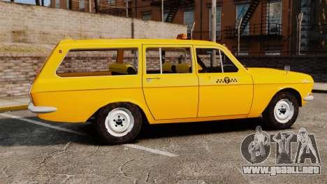 Taxi Volga GAZ-24-02 para GTA 4 left