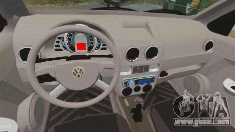 Volkswagen Gol G4 BBS para GTA 4 vista interior
