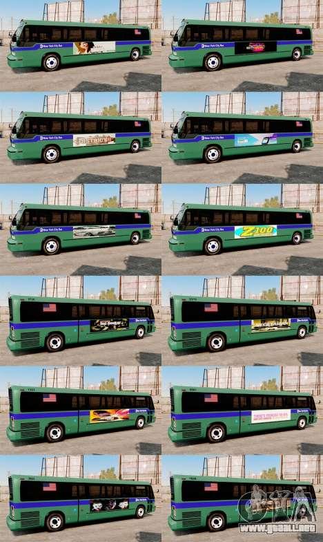 Servicio Nueva York para GTA 4 adelante de pantalla