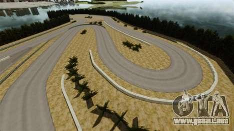 Ubicación Sportland Yamanashi para GTA 4 adelante de pantalla