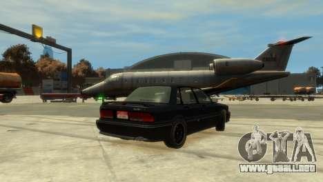 Mitsubishi Galant para GTA 4 Vista posterior izquierda