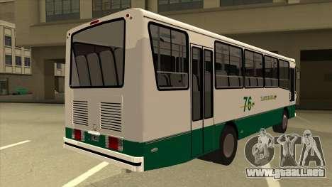 Mercedes-Benz OHL-1320 Linea 76 para la visión correcta GTA San Andreas