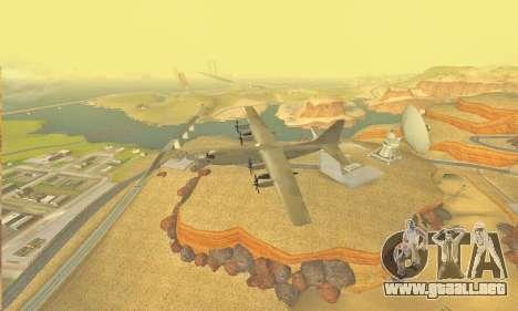 Hercules GTA V para visión interna GTA San Andreas