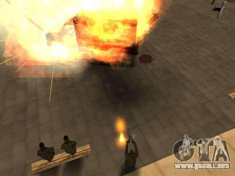 WeaponStyles para GTA San Andreas octavo de pantalla