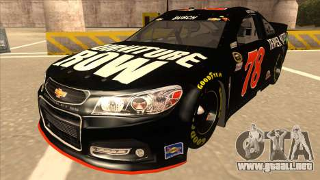 Chevrolet SS NASCAR No. 78 Furniture Row para GTA San Andreas