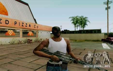 Robo sistema v2.0 para GTA San Andreas tercera pantalla