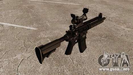 Automático carabina M4 VLTOR v2 para GTA 4 segundos de pantalla