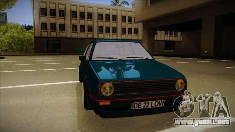Volkswagen Golf MK2 Stance Nation by Razvan11 para GTA San Andreas left