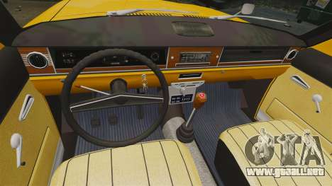 Taxi Volga GAZ-24-02 para GTA 4 vista hacia atrás