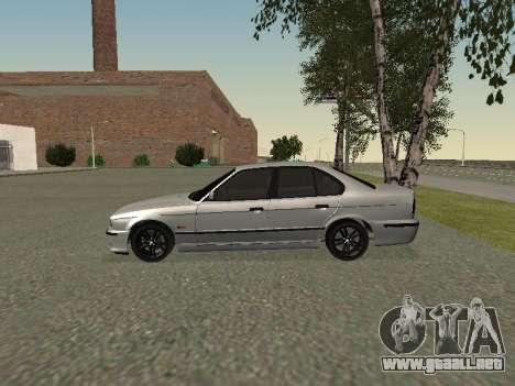 BMW 525I para GTA San Andreas vista posterior izquierda