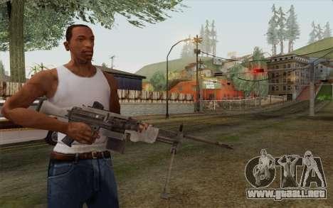 Arma militar para GTA San Andreas