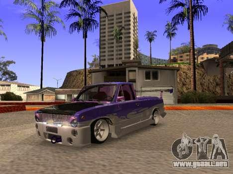 Vaz 2102 divertido flotar para GTA San Andreas