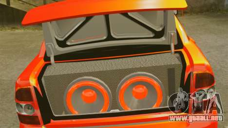 Lada Priora Cuba para GTA 4 vista lateral