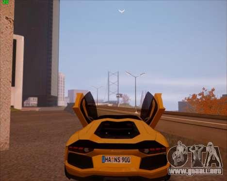 SA Graphics HD v 2.0 para GTA San Andreas quinta pantalla