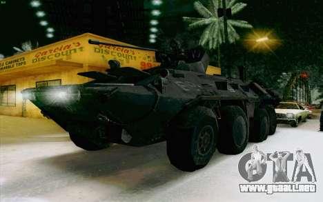 BTR-80 para la visión correcta GTA San Andreas