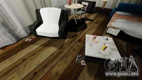 Apartamento elegante Bokhan para GTA 4 tercera pantalla
