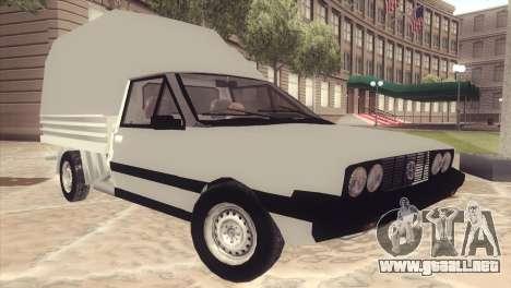 FSO Polonez Mr89 Truck para GTA San Andreas