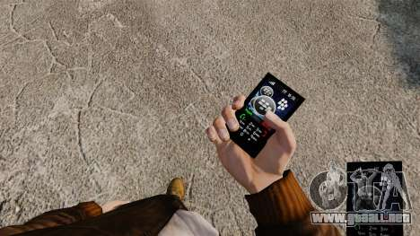 Temas para redes móviles de las marcas de teléfo para GTA 4 tercera pantalla