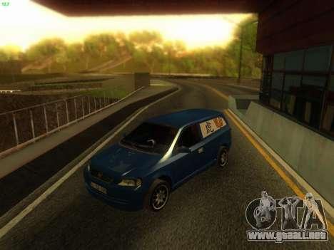 Opel Astra G Caravan Tuning para GTA San Andreas vista posterior izquierda